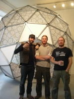 Geodesic Dome completed